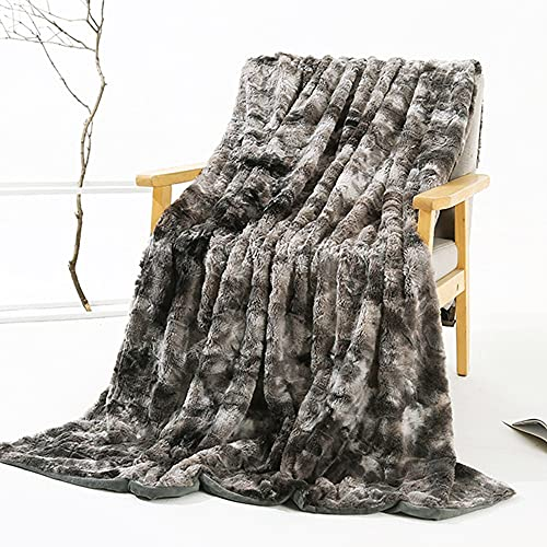 XUDAN Flauschig-Weiche Kuscheldecke,Flanell Fleece Decke Throw Home Decke, Fluffy Decke Warm Bed Throws FüR Sofa Und Haustier, Exquisite Komfortabel 130 * 160CM