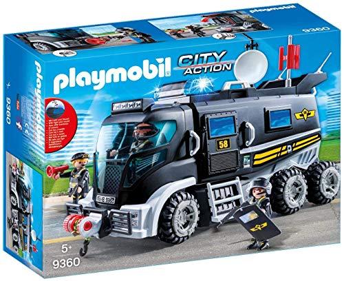 Playmobil- City Action Giocattolo Veicolo unità Speciale con Luci e Suoni, Multicolore, 9360