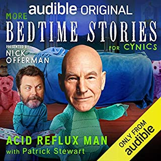 The Acid Reflux Man With Patrick Stewart cover art