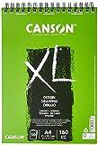 Bloc Dibujo Canson Xl Dessin Din A4 Liso Microperforado Espiral 21x29,7 Cm 50 Hojas 160 Gr