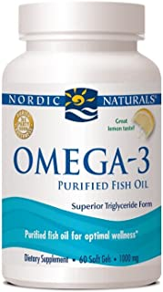 Nordic Naturals - Omega-3 Fish Gels, Cognition, Heart Health, and Immune