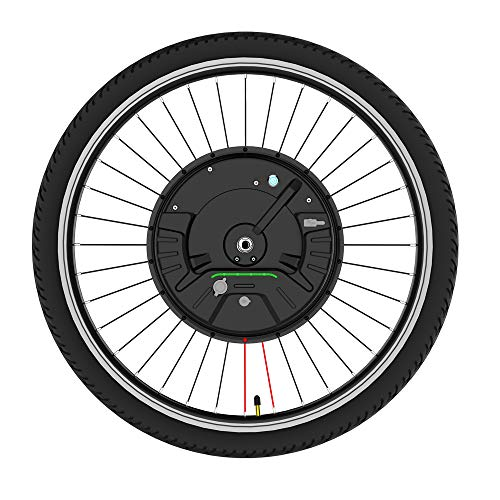 Kit de conversión de rueda delantera Kit de conversión de bicicleta eléctrica...