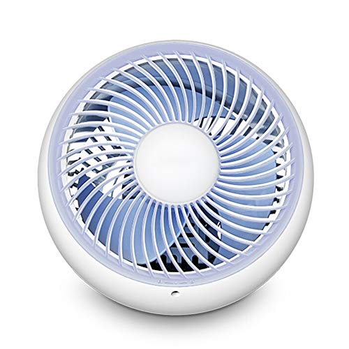 HS-01 Ventilator, huishoudnacht mute-tafelventilator, USB multi-hoekinstelling ventilator, mini kantoor studentenhuis toren fan wit HS-01