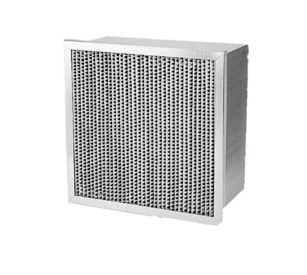 Filtration Group 16292 Ashrae Cell Box Air Filter, Wet Laid Micro-Fiber Paper, Steel, 14 MERV, Galvanized Steel Frame, 24