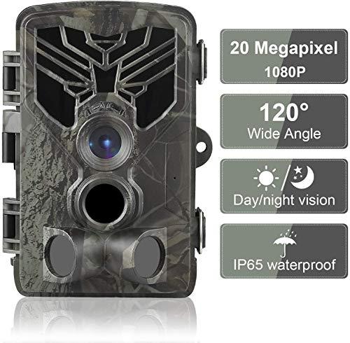 DIGITNOW Trail Camera 20MP 1080P, Game Camera with No...