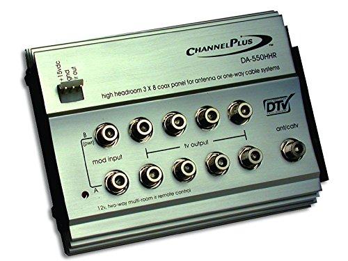 ChannelPlus Linear DA-550HHR High-Headroom Rf Distribution Amplifier with 12V Ir