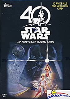 40th anniversary star wars cards