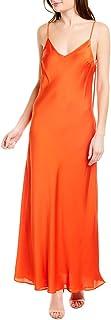 BCBG Max Azria Womens Satin Strappy Slip Dress
