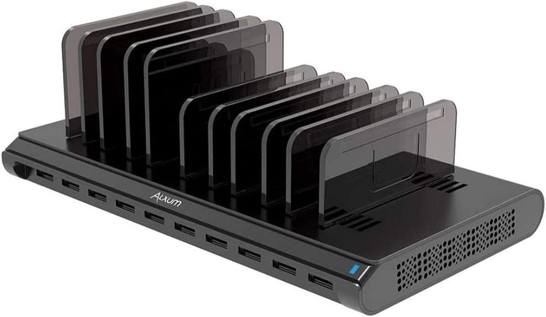 1. Alxum iPad Charging Station