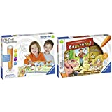 Ravensburger Tiptoi 00806 Starter-Set: Stift und Wörter-Bilderbuch, Mehrfarbig & Tiptoi 00830 Rätselspaß auf dem Bauernhof