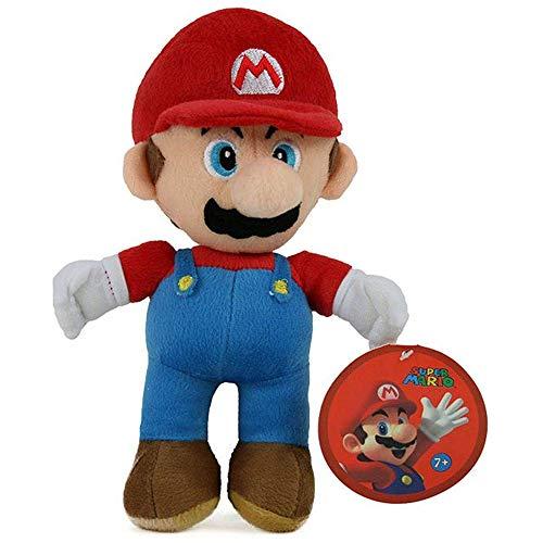 supermario peluche Goldie Marketing Super Mario Peluche Mario 33 CM Nintendo Plush Videogiochi Luigi