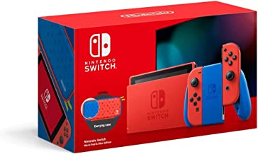 Nintendo Switch Console - Mario Red & Blue Edition