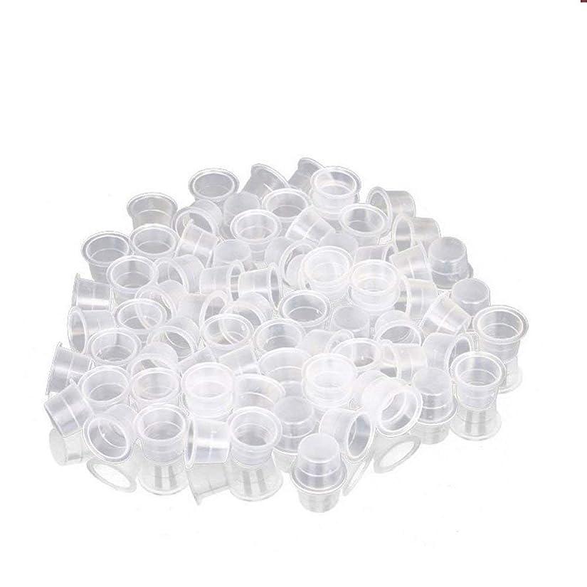 ヨーロッパ閲覧するデザイナーインクカップ、顔料カップ、顔料ボックス ディスポーザブル、シリコーン製颜料ツール、キッ100個のための小さな染料皿