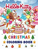 Hello Kitty Christmas Coloring Book: Great Coloring Book with High Quality Images - Big Christmas Gift for Kids and Fans