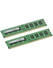 CFD販売 デスクトップPC用 メモリ PC3-12800(DDR3-1600) 4GB×2枚 240pin DIMM (無期限保証)(Panram) W3U1600PS-4G