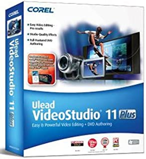 Corel Ulead VideoStudio 11 Plus [OLD VERSION]