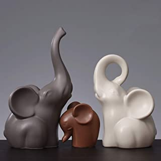 Figurines Statues Sculpture Statuettes,Creative Red Elephant Couple Coeur En Forme De Polyresin Lovers Animal Sculpture Collectible,Ornement Artisanat Home Art Desktop Decor Statuettes Pour Le Salon