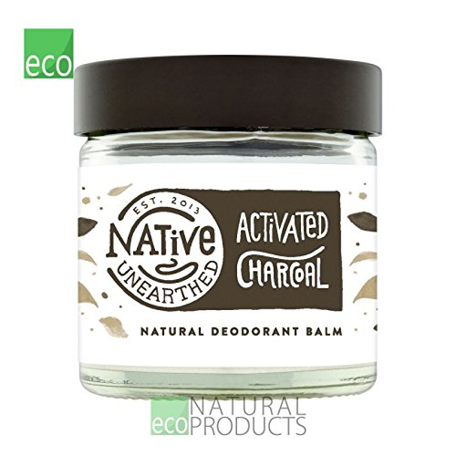 Native Unearther Natural Activated Charcoal Deodorant Balm 60ml