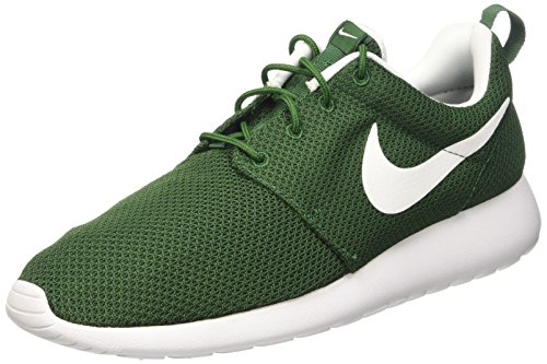 Nike Roshe One, Zapatillas de Running para Hombre, Verde/Blanco (Gorge Green/White), 43 EU