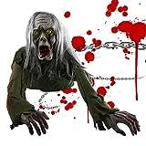Maxjaa Decorazioni animate di Halloween, Bambola Fantasma...