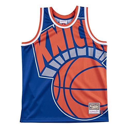 Mitchell & Ness M&N Big Face Basketball Jersey HWC New York Knicks - L image