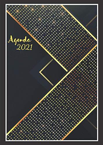 Agenda 2021 dia por Pagina A4 español Profesional: Calendario 2021   Del...