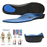 Arch Support Orthotic Shoe Insoles for women-men Shoe Inserts Recommended for Plantar Fasciitis...