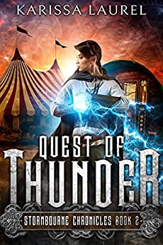 Quest of Thunder: A Young Adult Steampunk Fantasy (Stormbourne Chronicles Book 2) by [Karissa Laurel, Sue Fairchild]