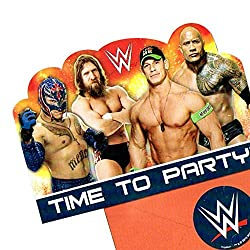 Wwe Party Invitations