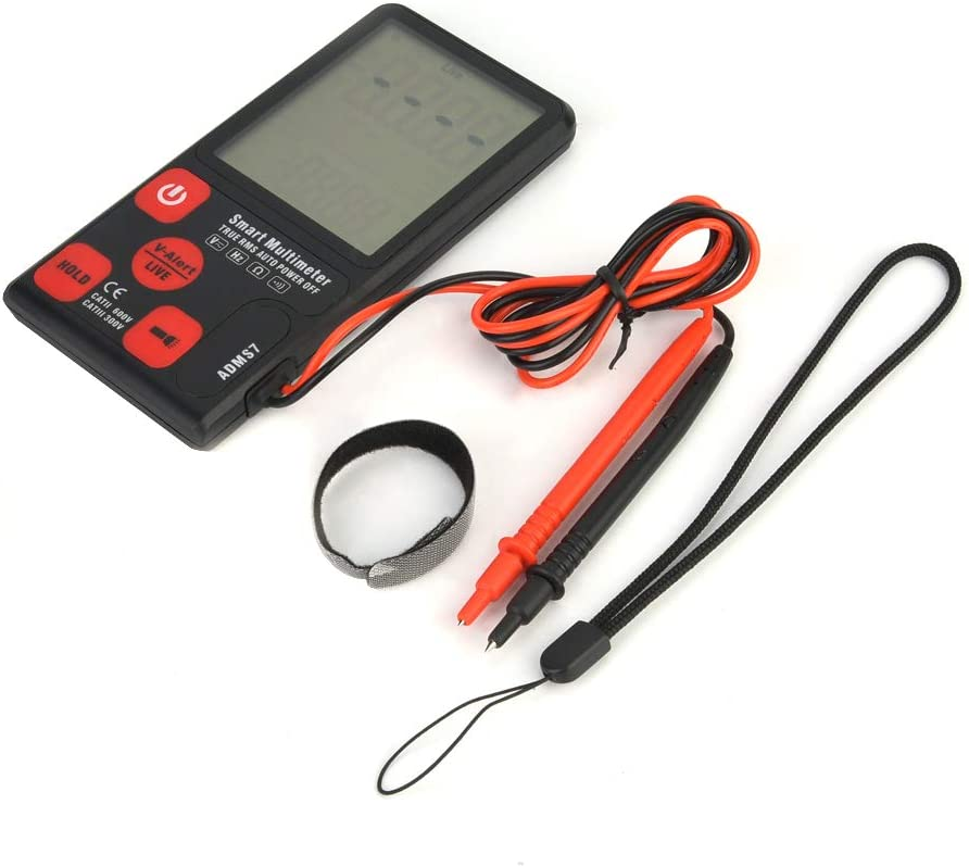 6000 Counts Portable Automatic Lcd Multimeter Display D Genuine Fresno Mall Digital