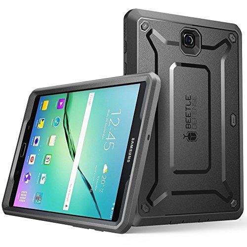Samsung Galaxy Tab S2 9.7 Hülle, SUPCASE [Unicorn Beetle PRO Serie] Ganzkörper-Rugged Schutzhülle mit integrierter Displayschutzfolie/Gehäuse/Tasche/Cover/Case/Zubehör (Schwarz)