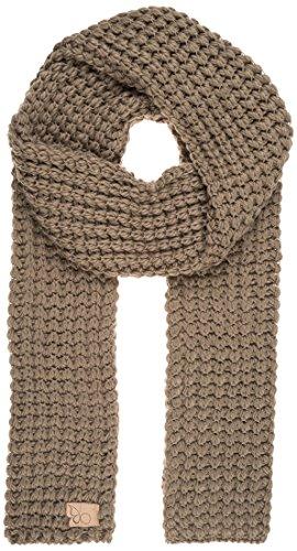 Berydale Sciarpa in maglia da donna, senza frange, Grigio