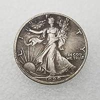 絶妙なコインアンティーククラフトアメリカン1929-Sリバティ記念コインシルバーダラーの像