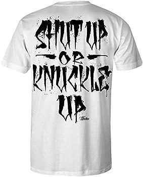 Heathen Knuckle Up T-Shirt  White X-Large