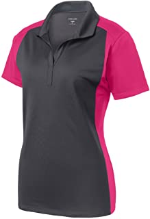 Ladies Moisture Wicking Micropique Polo Shirts in Sizes XS-4XL