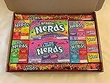Wonka Nerds, Geschenkbox mit amerikanischen Süßigkeiten, USA, Retro-Bonbons, Geschenkset