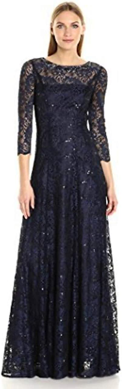 Nouveau Tahari Arthur S Levine Taille 16 noir en plumes strass manchette robe RRP $199