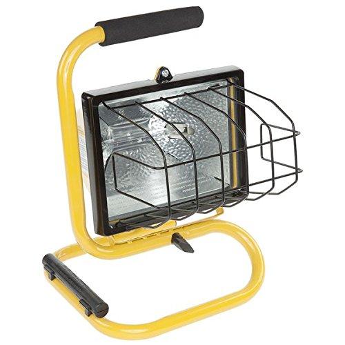 Bayco SL-1002 - Lámpara de trabajo (500 W, halógena), color amarillo