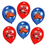 Cars Party Ballons | Disney 6 Stück | Luftballons | Kinder Geburtstag