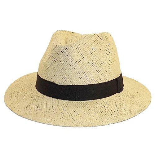 Chapeau-tendance - Chapeau style panama paille - - Homme
