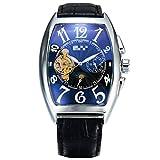 Relojes Automáticos Hombres Tourbillon Relojes Mecánicos Reloj De Moda 24cm Negro