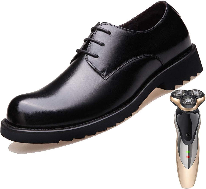 LYZGF, Men, England, Business, Lace, Thin Line, Fashion, Wedding, Big Head, Leather shoes