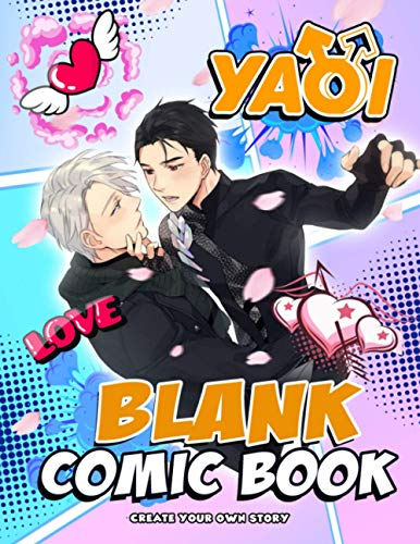 Yaoi Blank Comic Book: Wonderful Item For Fans To Relax And...
