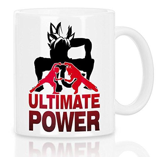 style3 Goku-Luffy Fusion Ultimate Power Tasse avec motif