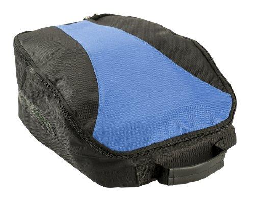IZZO Golf # 90592Sac à Chaussures, Bleu/Noir