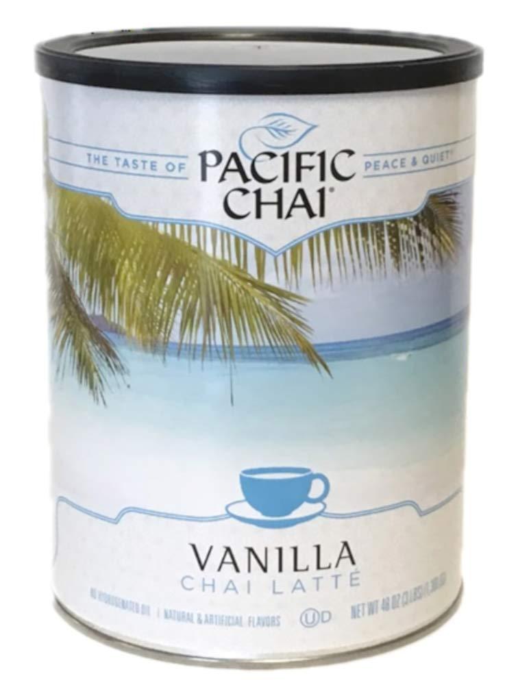 Pacific Max 84% OFF Chai Vanilla supreme Latte Powder or Mix Hot Iced Instant