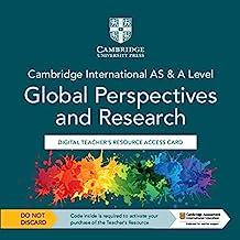 Cambridge International AS & A Level Global Perspectives & Research Digital Teacher's Resource Access Card