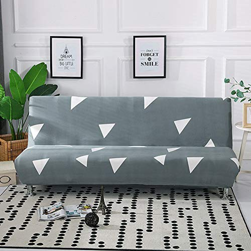 Funda para sofá Cama, Elástica, Antideslizante, Estampada Fundas Sofa Click Clack Funda Protectorapara Sofá Plegable Decoración de la Sala de Estar Color 28 160-190cm