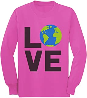 Love Save The Planet Earth Day Environment Toddler/Kids Long Sleeve T-Shirt