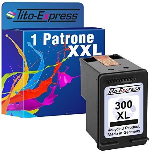Tito-Express PlatinumSerie 1 Druckerpatrone für HP 300 XL Black Deskjet D5660 F2400 F2410 F2420 F2430 F2440 F2480 F2492 F4200 F4210